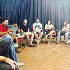 Roda de conversa pós exibição no CCBNB
