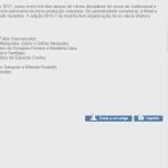 Programação VII Mostra CinEMA Universidade de Fortaleza.